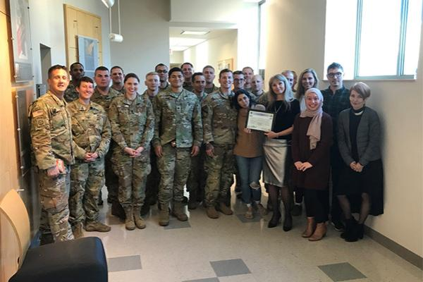 SEELC staff with the 412th Civil Affairs Battalion (Airborne)