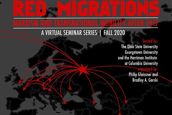 Red Migrations Symposium Poster
