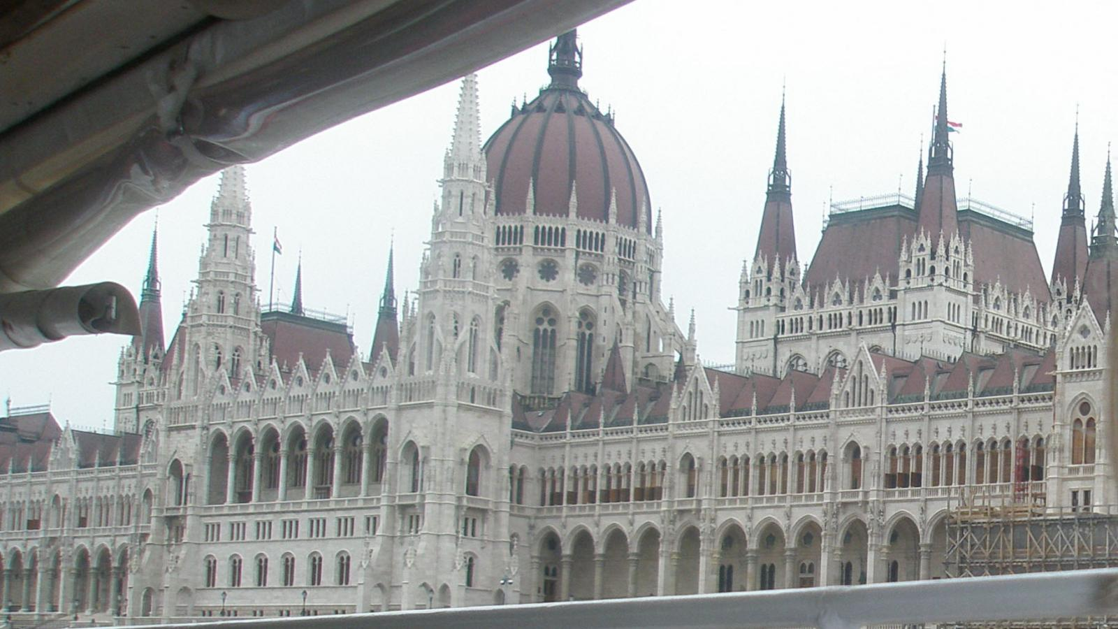 student picture of Budapest, taken from boat