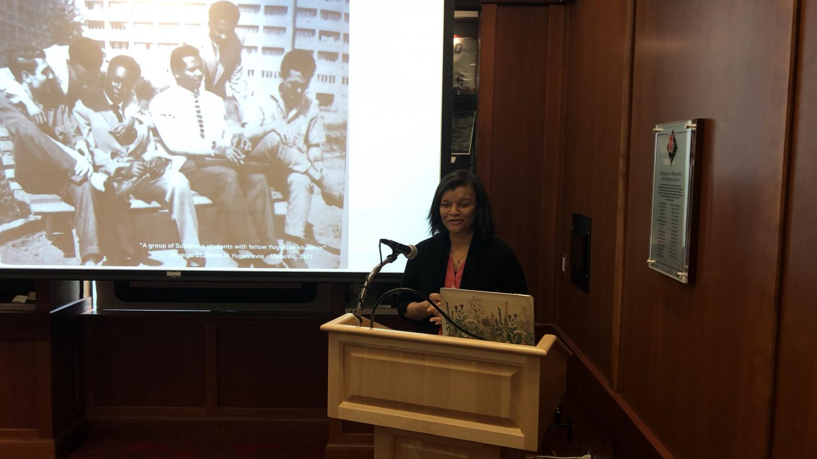 Dr. Sunnie Rucker-Chang Presents the Inaugural Kalbouss Lecture