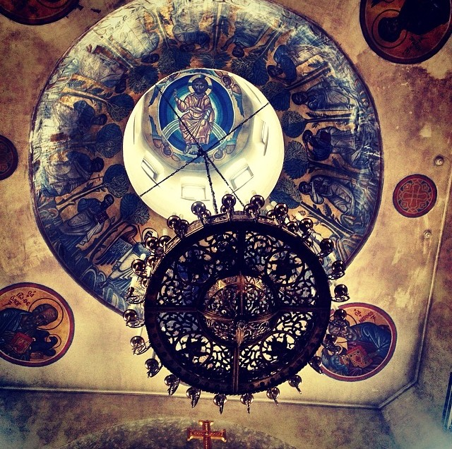 Photo of ceiling in Moscow Church by M. Furman