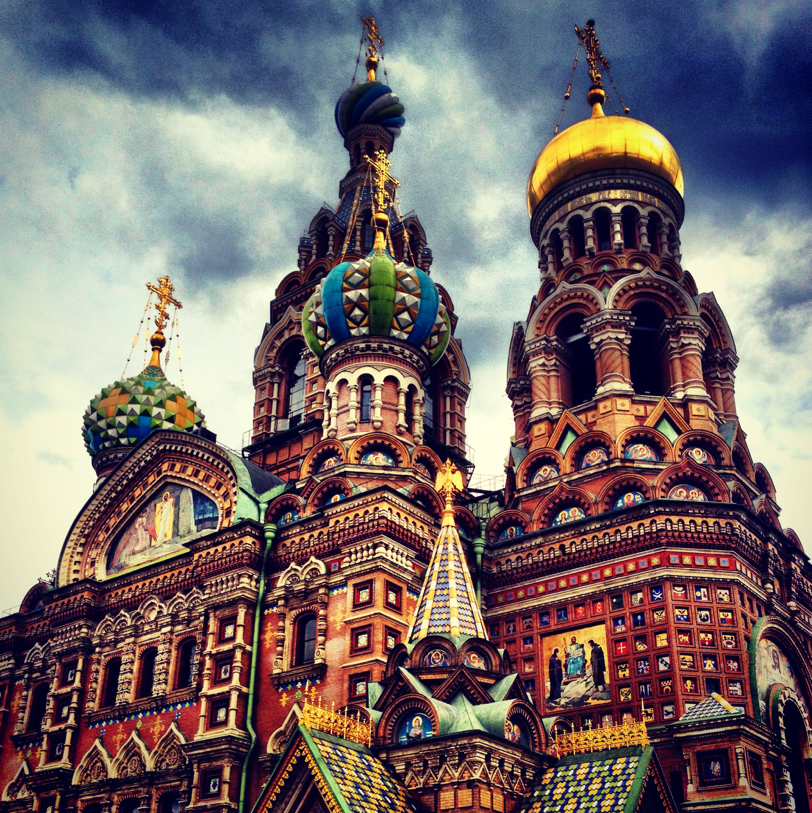 Church of the Savior on Spilled Blood, by M. Furman